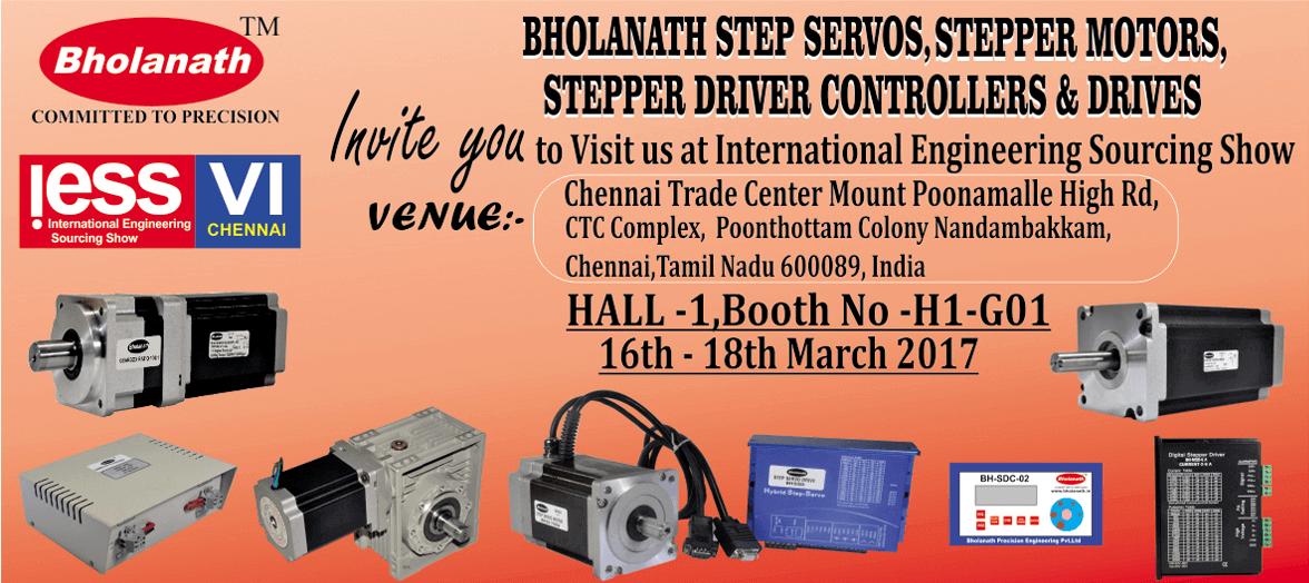 Bholanath Stepper Motors, Step-Servo Motors and Drives Buy Stepper Motor | CNC Stepper Motors | NEMA Stepper Motors Online Bholanath Stepper Motors, Step-Servo Motors and Drives