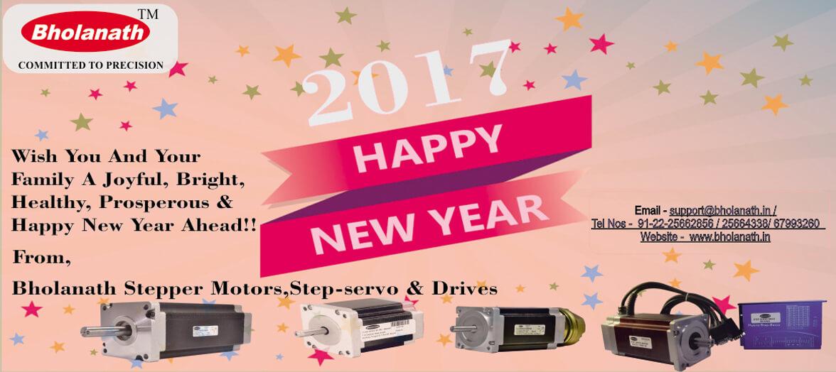 Bholanath Stepper Motors - Happy New Year 2017